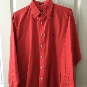 EUC, Orange Nordstrom cotton button down shirt....